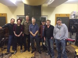 Levs in Studio with Billy Bragg