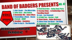 Band of BADGERS PRESENTS PLAYLIST 47 2