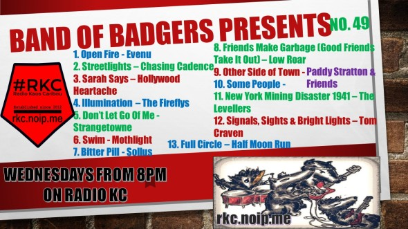 Band of BADGERS PRESENTS PLAYLIST 49 63