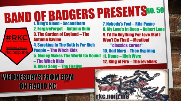 Band of BADGERS PRESENTS PLAYLIST 50 64 PROMO.jpg