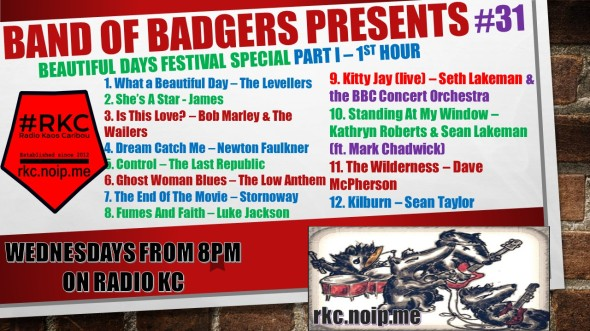 Band of BADGERS PRESENTS PLAYLIST PODCAST 31 part 1 promo.jpg