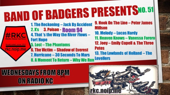 Band of BADGERS PRESENTS PLAYLIST PROMO 51 65