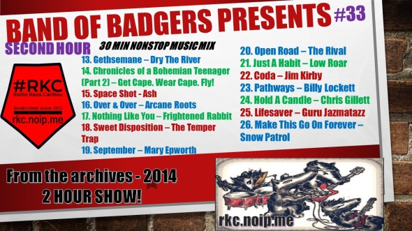 Band of BADGERS PRESENTS PLAYLIST PROMO archives 33 2.jpg
