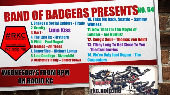 Band of BADGERS PRESENTS PLAYLIST 54 68 PROMO.jpg