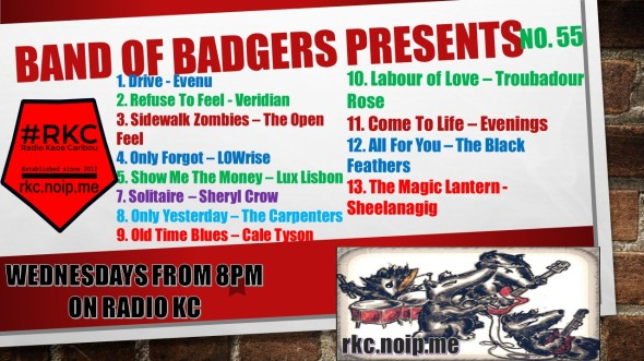 Band of BADGERS PRESENTS PLAYLIST 55 69 PROMO (1)