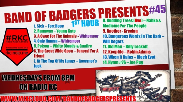 Band of BADGERS PRESENTS PLAYLIST PODCAST 45 hour 1 PROMO.jpg