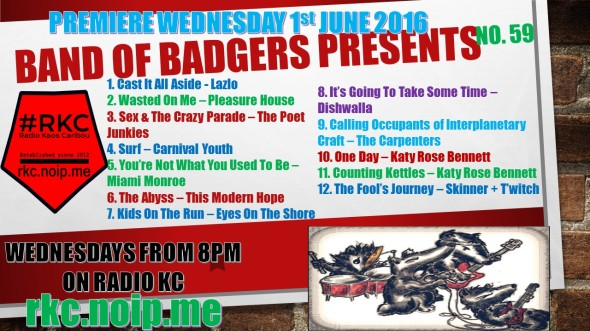 Band of BADGERS PRESENTS PLAYLIST 59 73 PROMO.jpg