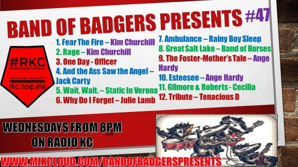 Band of BADGERS PRESENTS PLAYLIST PODCAST 47 PROMO