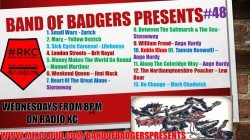 Band of BADGERS PRESENTS PLAYLIST PODCAST 48 PROMO