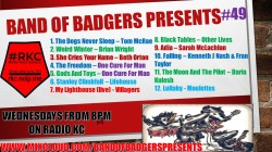 Band of BADGERS PRESENTS PLAYLIST PODCAST 49 PROMO