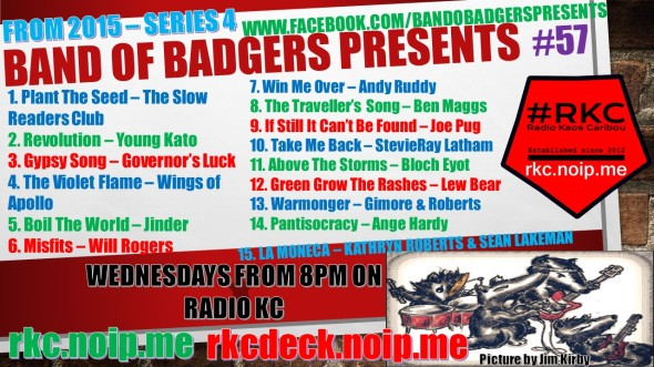 Band of BADGERS PRESENTS PLAYLIST 57
